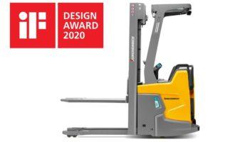 Vozík ERC 216zi z produkce Jungheinrichu získal ocenění iF Design Award
