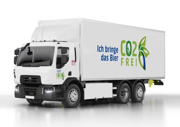 Renault Trucks dodá skupině Carlsberg dvacet vozů na elektrický pohon