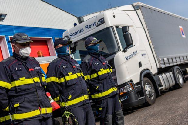 Scania pomáhá hasičům