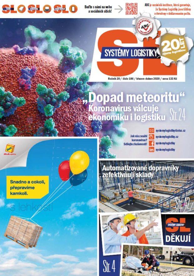 SL 186: Časopis Systémy Logistiky mimořádně i on-line!