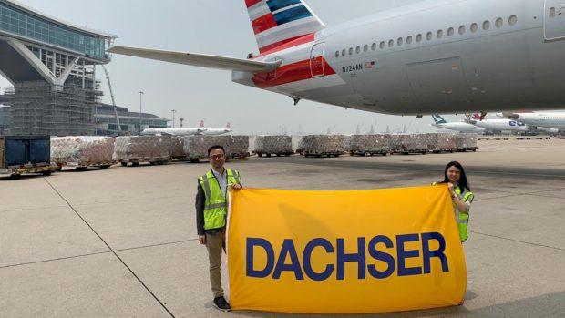 Dachser zorganizoval třicátý charterový let
