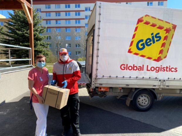 Geis pomohl s distribucí Anti-COVIDu