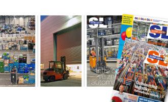 Systémy Logistiky 187: intralogistika, automatizace skladování, robotizace, outsourcing logistiky