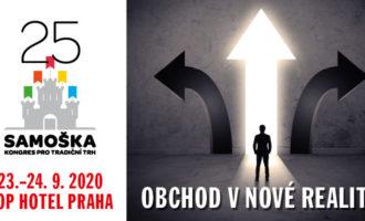 Kongres SAMOŠKA – 23.–24. 9. 2020, Praha