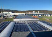 Gebrüder Weiss spouští pátou solární elektrárnu