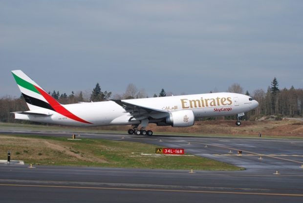 Emirates SkyCargo uskutečnila během tří měsíců 10 tisíc nákladních letů