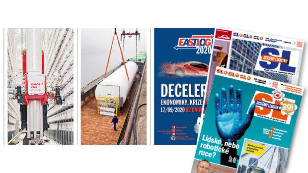 SL 189: rozvoj automatizace, developeři versus samosprávy, vodní cesty, příloha Eastlog 2020
