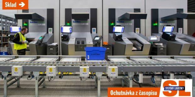 Skladování malých dílů se nese ve znamení automatizace