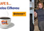 Na kafe s… . Danielou Cífkovou, ředitelkou logistiky společnosti Continental Barum