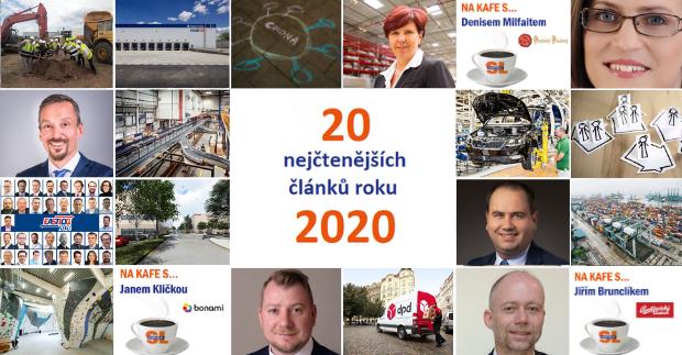 20 nejčtenějších článků na webu Systémů Logistiky za rok 2020