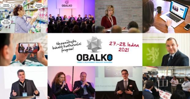 Bohatý program kongresu OBALKO 8 plný obalové inspirace bude k vidění online