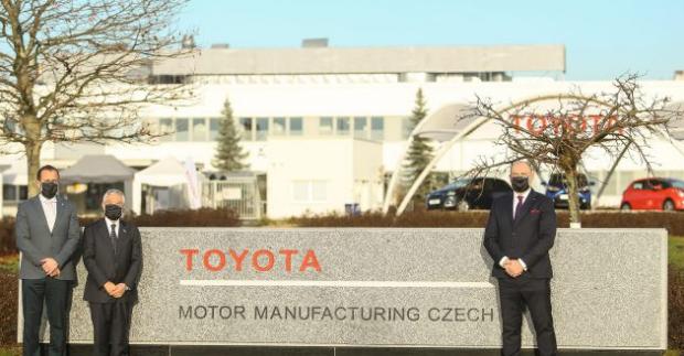 Toyota se stává jediným vlastníkem závodu v Kolíně, který ponese název Toyota Motor Manufacturing Czech Republic