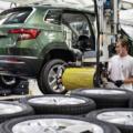 Škoda auto výroba automobilka