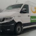 dodávka GLS elektromobilita