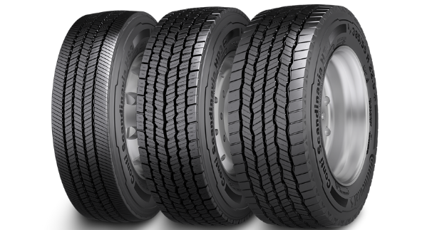 Zimní pneumatiky Continental přispívají k úspěchu logistických firem