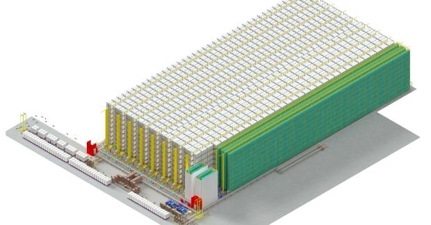 Amber Beverage Group investuje 15,5 milionu eur do automatizovaného skladu, který funguje bez lidí