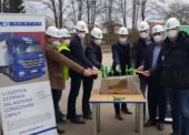 MD logistika zahájila výstavbu mraženého skladu