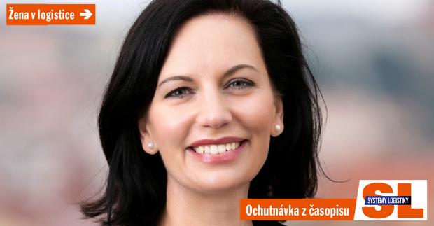 """Markéta Vrbasová: """"Logistika je živý organismus, který vyžaduje rychlou reakci"""""""