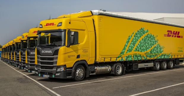 DHL rozšiřuje flotilu ekologických kamionů na zkapalněný zemní plyn