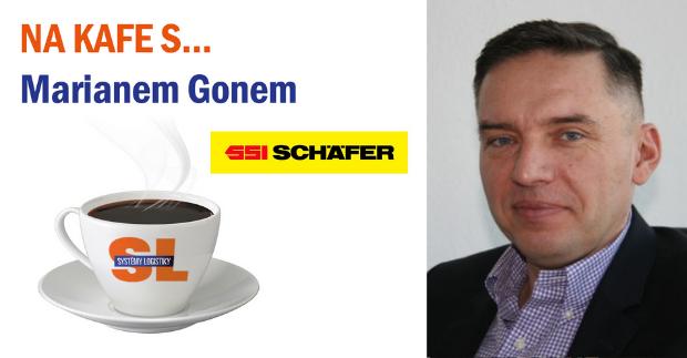 Na kafe s… Marianem Gonem, generálním ředitelem společnosti SSI Schäfer Systems International