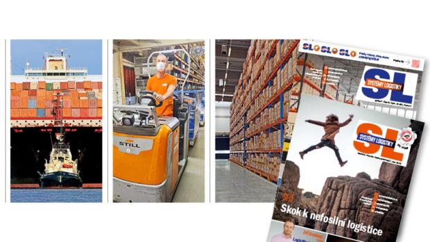 SL 193: E-commerce roste, kontejnerové přepravy, paletový pooling, expanze ke stropu