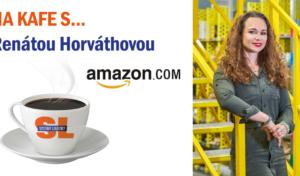 Na kafe s… Renátou Horváthovou, senior operations manažerkou pro Inbound distribučního centra Amazonu v Dobrovízi