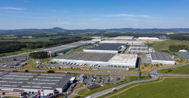 Bosch se stává další západní společností stěhující se do průmyslových prostor CTPark Bor v ČR