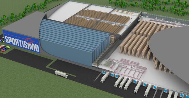 SSI Schäfer vybaví distribuční centrum Sportisima nejnovějšími skladovými technologiemi
