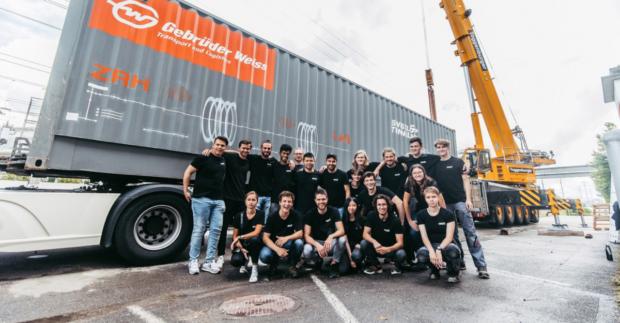 Gebrüder Weiss přepraví experimentálního vrtacího robota ze Švýcarska do Las Vegas