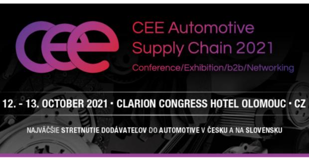 Největší setkání automotive dodavatelů v Česku a na Slovensku se uskuteční v říjnu v Olomouci