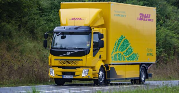 Flotila DHL Supply Chain se rozrostla o nový elektrický truck Volvo