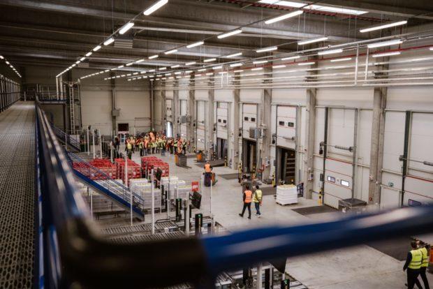Do nového skladu investovala Coca-Cola HBC půlmiliardu korun