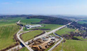 Prologis zahájil výstavbu průmyslového parku u středočeského Ostředku